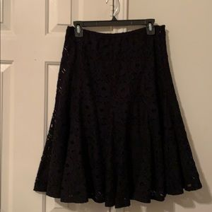 Adorable Lacey Flair Skirt by Alfani